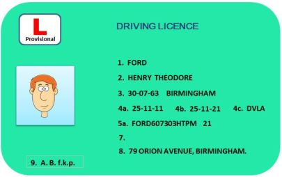 provisional licence graphic