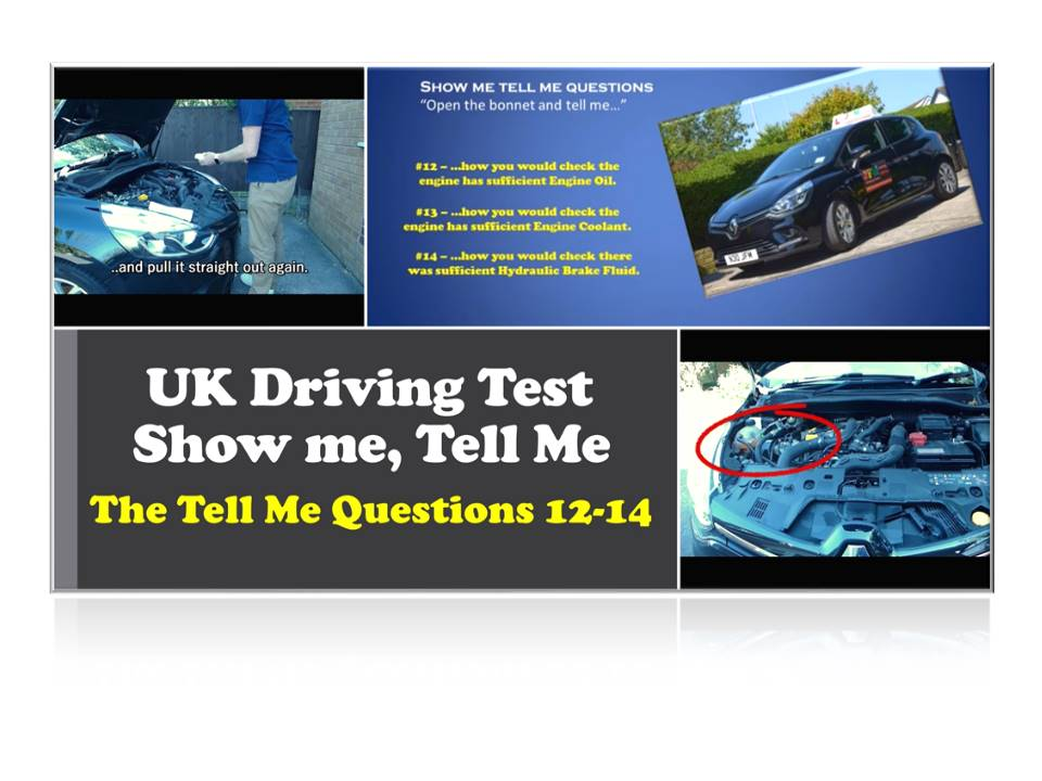 UK Driving Test Tell Me Questions