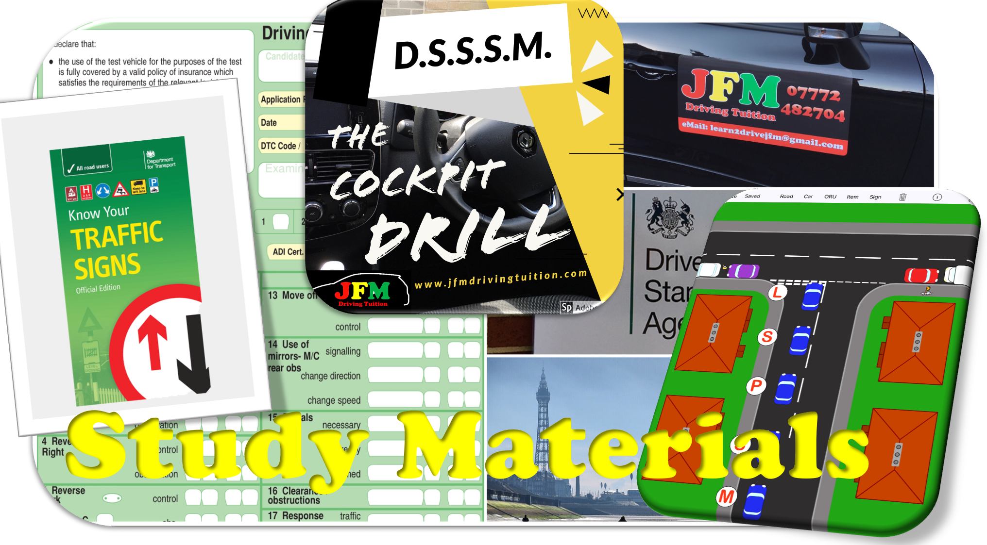 Study Material - JFM Driving Tuition